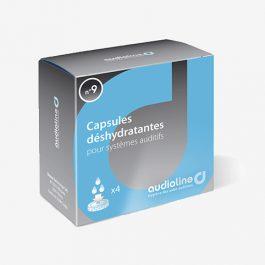 4 Petites capsules déshydratantes