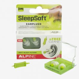 Alpine – Protection auditive sommeil SleepSoft