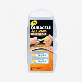 Duracell – Piles auditives 10