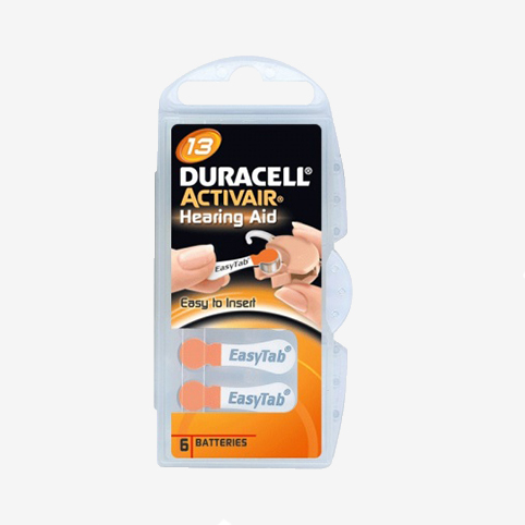 Duracell - piles auditives 13
