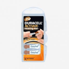 Duracell – Piles auditives 312