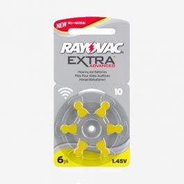 Rayovac – Piles auditives 10 – 0% Mercure