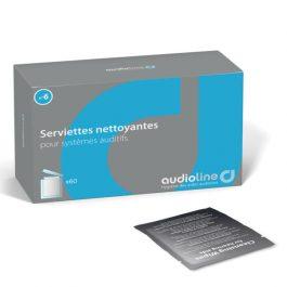 Serviettes nettoyantes appareils auditifs