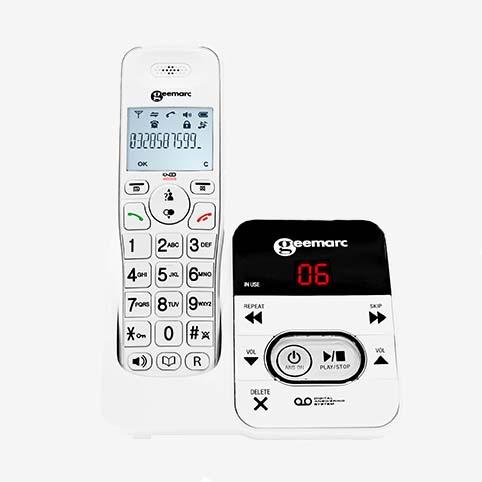 Geemarc - téléphone Amplidect 295 face