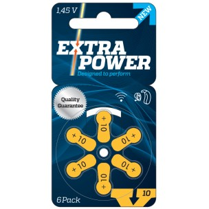 Extra Power – Piles auditives 10